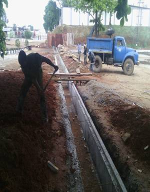 Drainage construction