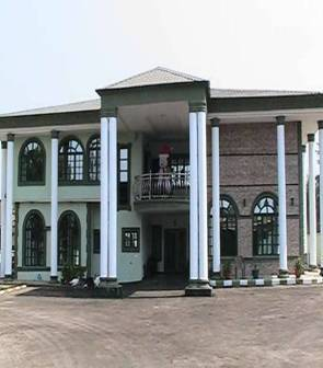 Events centre construction at Ibadan