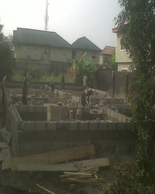 Construction of Residential development at Badore